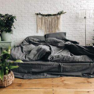 купить Постельное белье Bella Villa вареный хлопок W-0003 Eu Серый фото