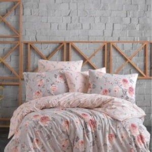 купить Постельное белье Zugo Home ранфорс Maison V1 Розовый фото
