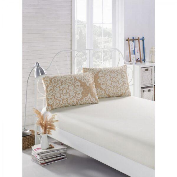 купить Простынь на резинке с наволочками Eponj Home - Minerva Белый фото