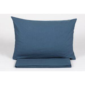 купить Простынь с наволочками Buldans - Burumcuk indigo Синий фото