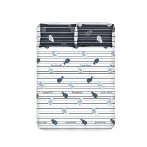 купить Простынь с наволочками Enlora Home - Inside antrasit Серый фото
