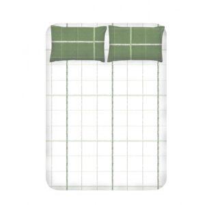 купить Простынь с наволочками Enlora Home - Maya Yesil Зелёный фото