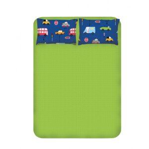 купить Простынь с наволочками Enlora Home - Paula mavi Зеленый фото