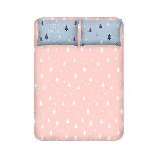 купить Простынь с наволочками Enlora Home - Takeme a.mavi Розовый фото