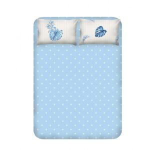купить Простынь с наволочками Enlora Home - Terezie mavi Голубой фото