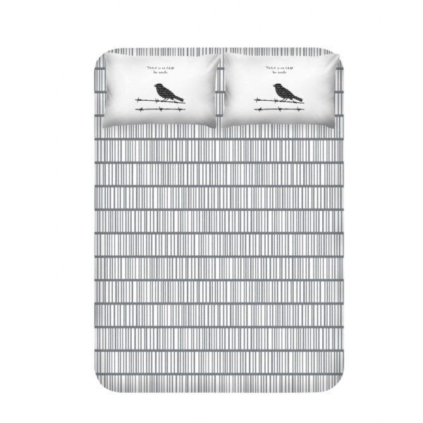 купить Простынь с наволочками Enlora Home - Vektor gri Серый фото