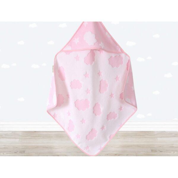 купить Уголок для купания Irya - Cloud Kundak 75*75 Розовый фото