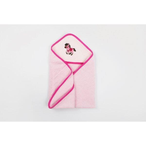 купить Уголок для купания Lotus - Horse 21 Розовый фото