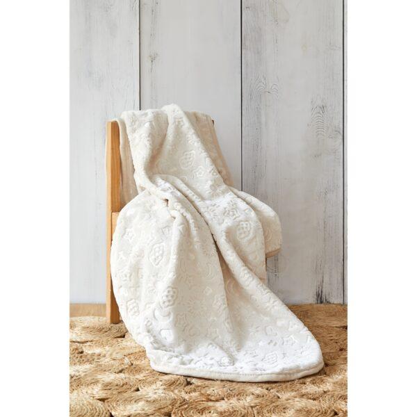 купить Детский плед в кроватку Karaca Home - Candy Bej 2020-2 100*120 Кремовый фото