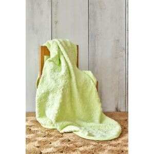купить Детский плед в кроватку Karaca Home - Candy Yesil 2020-2 100*120 Зеленый фото