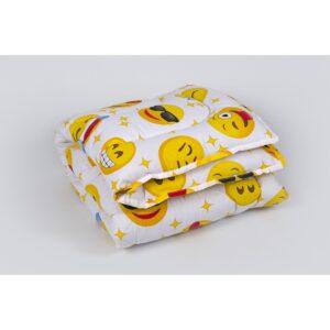 купить Детское одеяло Lotus - Colour Fiber 110*140 Emoji желтый Желтый фото