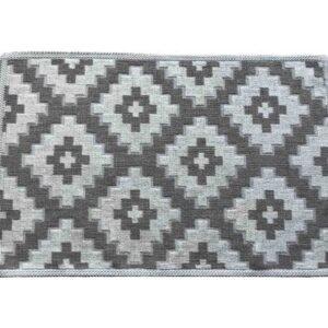 купить Коврик Zugo Home Орнамент 60*100 Серый фото