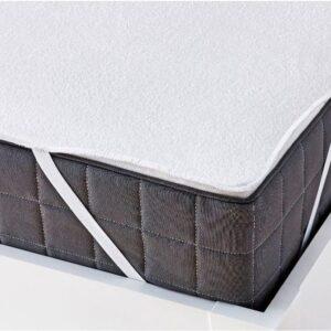 купить Наматрасник Zugo Home влагостойкий на резинках Белый фото