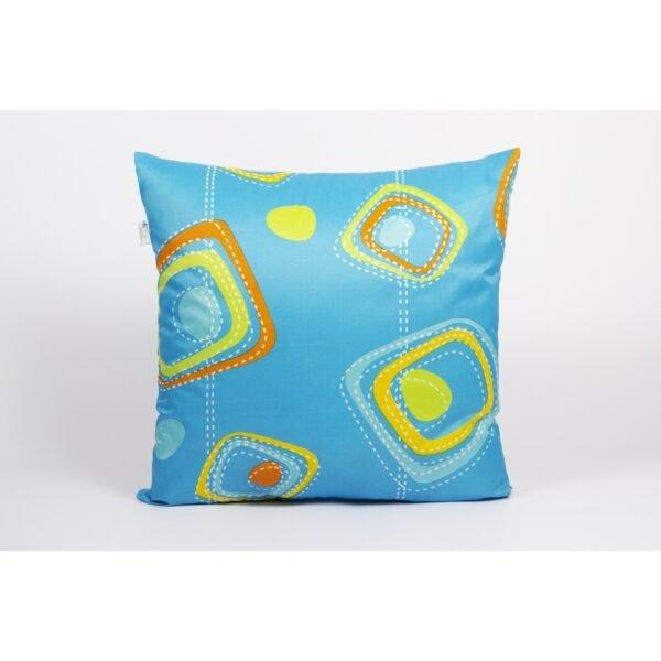 купить Подушка Iris Home - Life Collection Fantasy Голубой фото