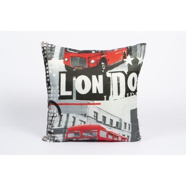купить Подушка Iris Home - Life Collection London Серый фото