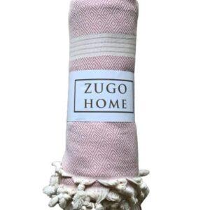 купить Покрывало пештемаль Zugo Home Elmas 200*240 см Розовый Розовый фото