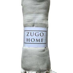 купить Покрывало пештемаль Zugo Home Elmas 200*240 см Серый Серый фото