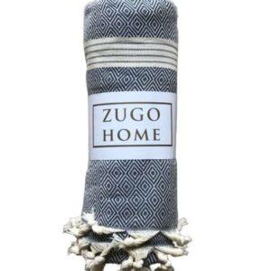 купить Покрывало пештемаль Zugo Home Elmas 200*240 см Синий Синий фото