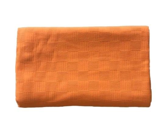 купить Покрывало-пике Zugo Home вафельное Оранжевый Оранжевый фото