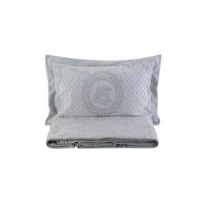 купить Покрывало с наволочками Karaca Home - Espino a.gri 2020-2 серый 240*230 Серый фото