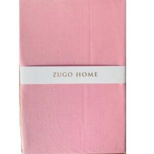 купить Простынь Zugo Home ранфорс Basic Розовый Розовый фото