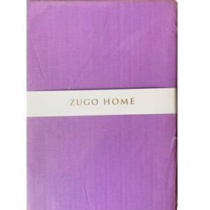 купить Простынь Zugo Home ранфорс Basic Фиолетовый Фиолетовый фото