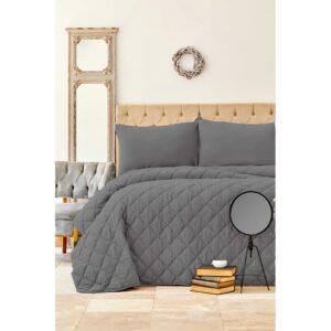 купить Набор постельное белье с одеялом Karaca Home - Cloudy gri Серый фото