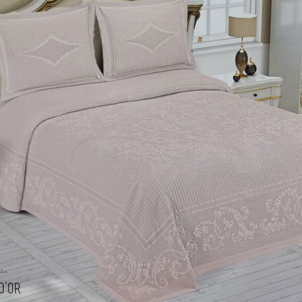 купить Покрывало Maison Dor LACENE PUDRA Розовый фото