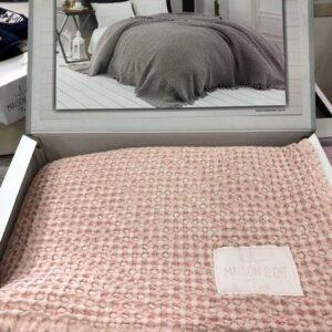купить Покрывало Пике Maison Dor Paris Emeline Pudra Розовый фото