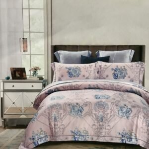 купить Постельное белье Тенсел Люкс 09803 Розовый фото