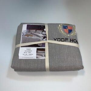 купить Постельное белье Французский лен 649904 Серый фото