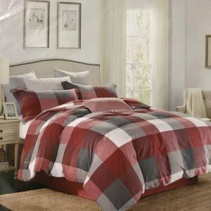 купить Постельное белье Французский лен 76369 Красный фото