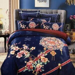 купить Постельное белье гобелен 00001739 Синий фото