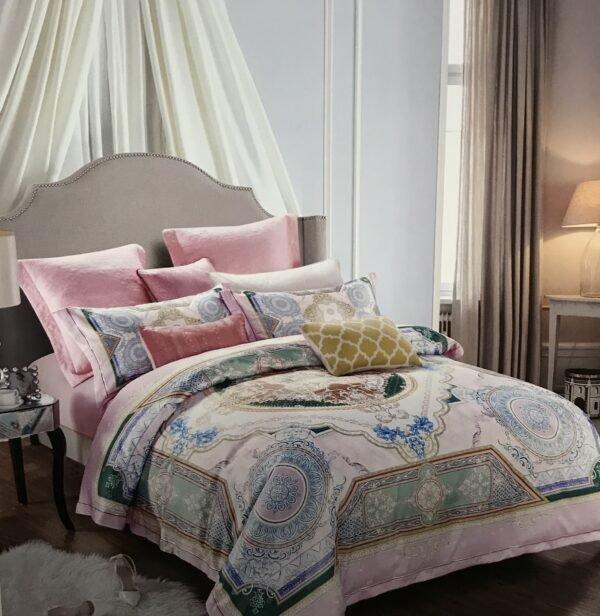 купить Постельное белье гобелен 00001745 Розовый фото