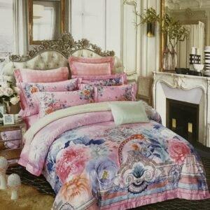 купить Постельное белье гобелен 00001751 Розовый фото