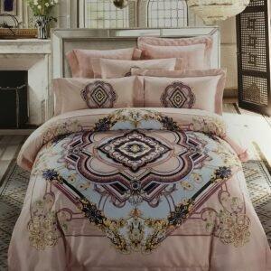 купить Постельное белье гобелен 00001755 Розовый фото
