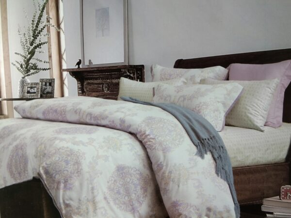 купить Постельное белье сатин - Лен 60S 00001640 Лиловый фото
