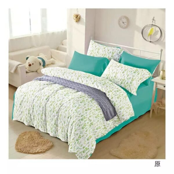 купить Постельное белье сатин люкс 00000333 Зеленый фото