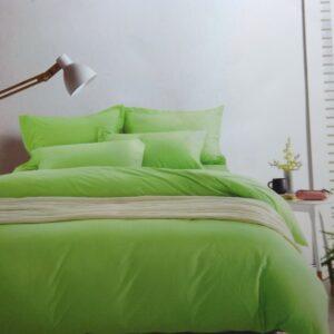 купить Постельное белье сатин люкс 40S однотонный 00001594 Зеленый фото