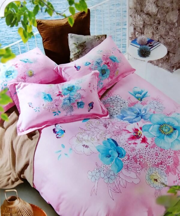 купить Постельное белье сатин люкс 60S 00001674 Розовый фото