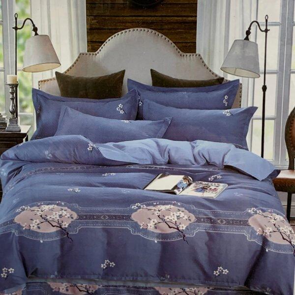 купить Постельное белье фланель 471709 Синий фото