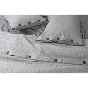 купить Постельное белье Barine Washed cotton - Pinstripe Серый фото