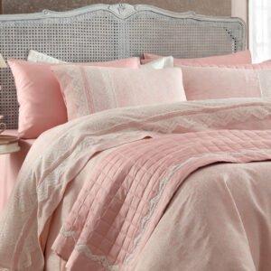 купить Постельное белье Gelin Home NAZLI PUDRA Розовый фото