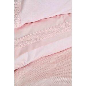 купить Постельное белье Karaca Home - Olivia pudra пике Розовый фото