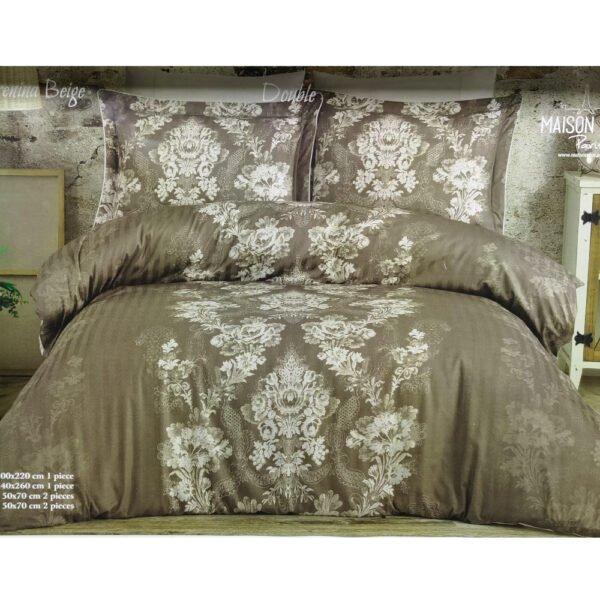 купить Постельное белье Maison Dor ANNA KARENINA BEIGE Серый фото