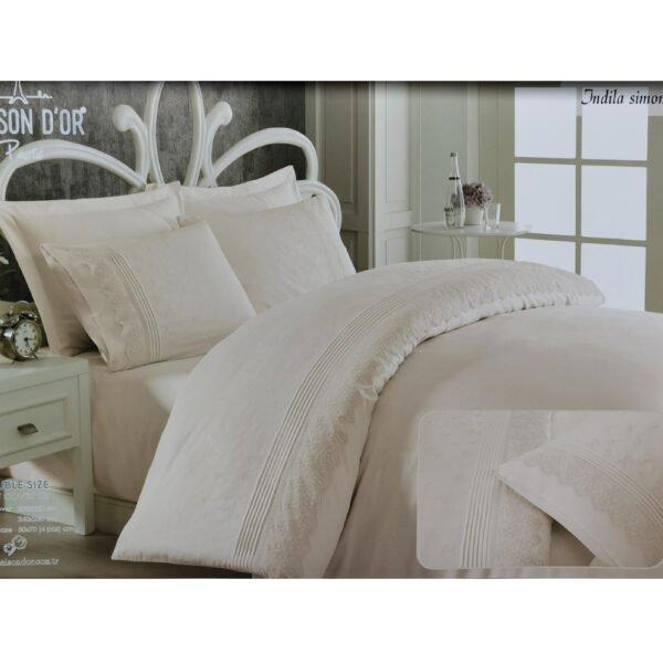 купить Постельное белье Maison Dor JNDILA SIMONE ECRU Кремовый фото