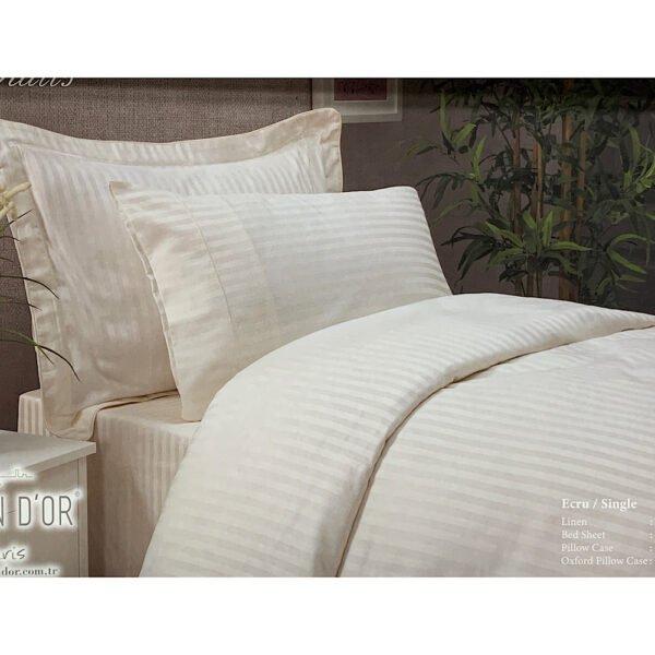 купить Постельное белье Maison Dor - NEW RAILS ECRU Кремовый фото