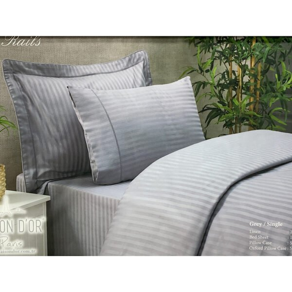 купить Постельное белье Maison Dor - NEW RAILS GREY Серый фото