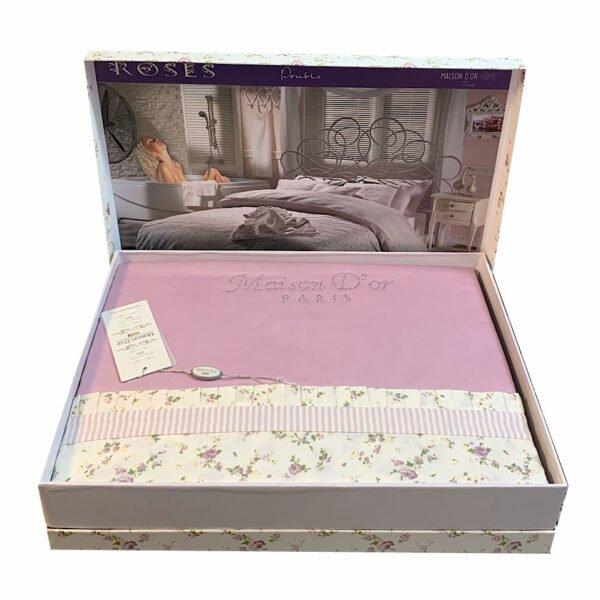 купить Постельное белье Maison Dor - ROSES ADET Розовый фото