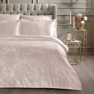 купить Постельное белье TIVOLYO HOME JACQUARD JOSEPHINE PUDRA Розовый фото